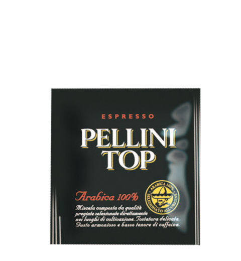 kv Pellini TOP Arabica 100% PODS 44mm pod 0,007 kg 150 db/doboz