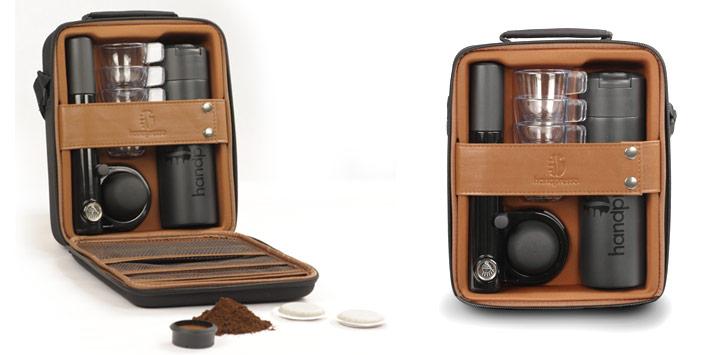 Handpresso Wild Hybrid (Pump) hordtáska szett kávéfőzővel