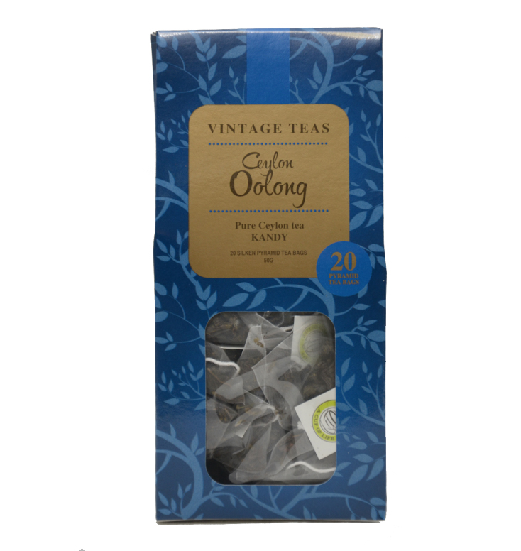 Vintage piramis tea - Oolong tea - 2,5g x 20db